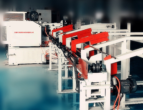 What is the structure of x-q42 Series bar shear production line?