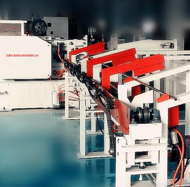 X-Q45 series precision bar cutting machine production line