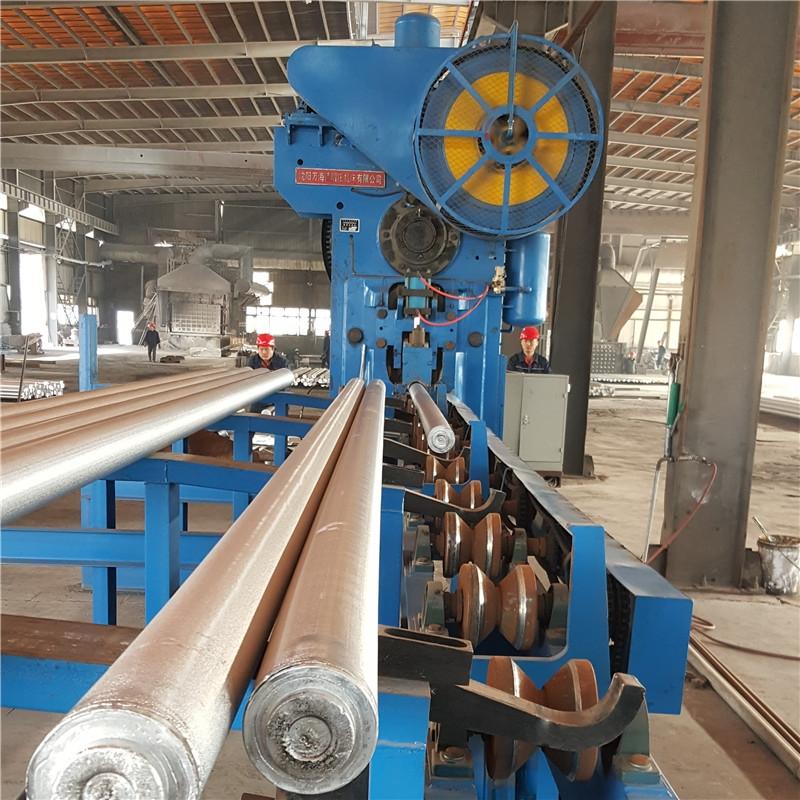 X-Q42 series aluminum bar shearing machine production line