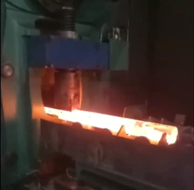 X-Q42-500B 500 ton hot shear bar shearing machine