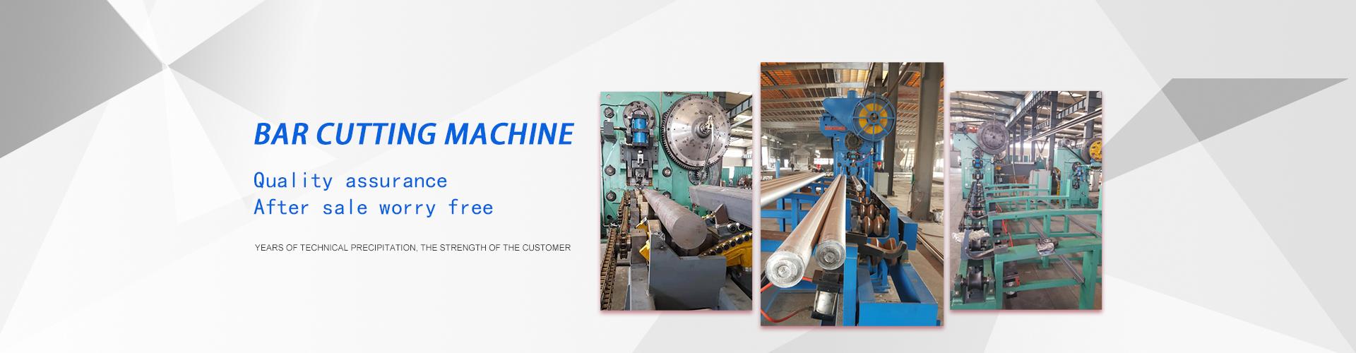 Precision bar cutting machine manufacturer